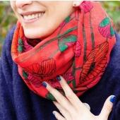 Je ne sais pas vous mais moi je ne sors jamais sans mon foulard ❤️😉 💐Sur le e-shop www.lesapsara.fr 💐livraison par la poste, en relais colis ou en click&collect