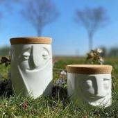 Les pots de la collection Tassen disponible au magasin et sur le e-shop www.lesapsara.fr #pot #porcelaine #cuisine #vase #fleur #metz #metznotreville #metzmetropole #visage #lorraine #