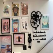 Pour une déco sympa et originale, affiche, horloge et skyline sont en vente dans notre boutique à Metz #metzville #metzmétropole #luxembourg🇱🇺 #thionville #lorraine #horloge #skyline #chat #decointerieure #