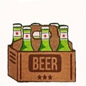 Pour les amateurs de bière voilà un paillasson à mettre devant la porte